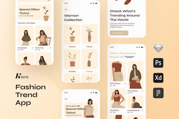 Kiera Fashion Trends App