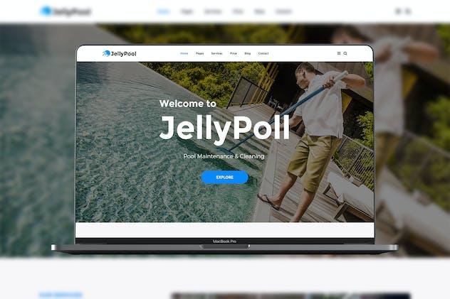 JellyPool Pool Maintenance