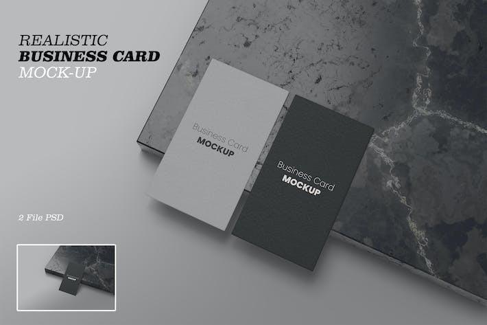 Thumbnail for Realistic Busines Card Vol 06