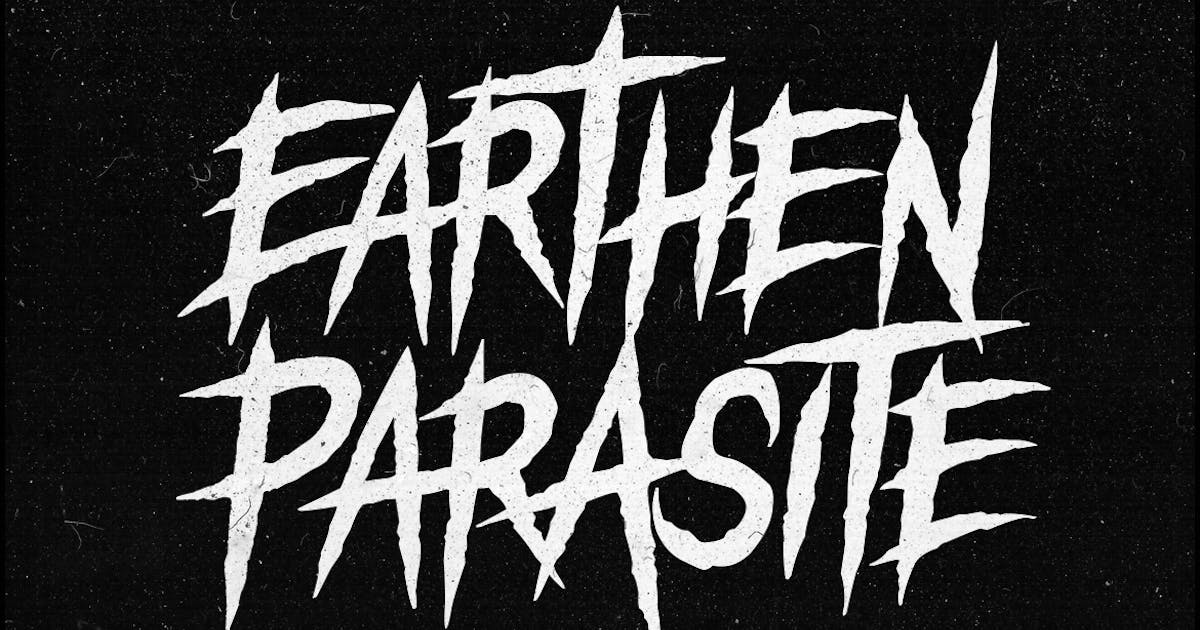 Download Earthen Parasite - Horror Font by TheBrandedQuotes