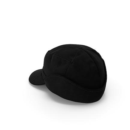 Black Field Hat