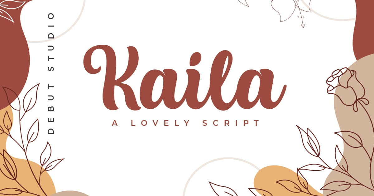 Download Kaila Script by DebutStudio