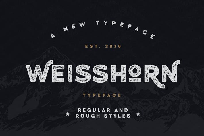 Thumbnail for Weisshorn Typeface