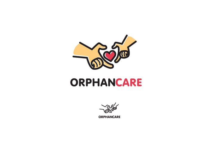 Thumbnail for Orphan Care - Children & Family Logo