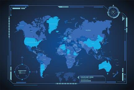 Design der digitalen Karte