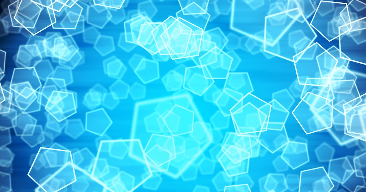 Frozen Depth Shapes Background by FXBoxx