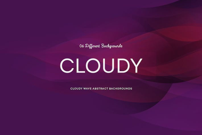 Thumbnail for Cloudy wave Abstract Backgrounds