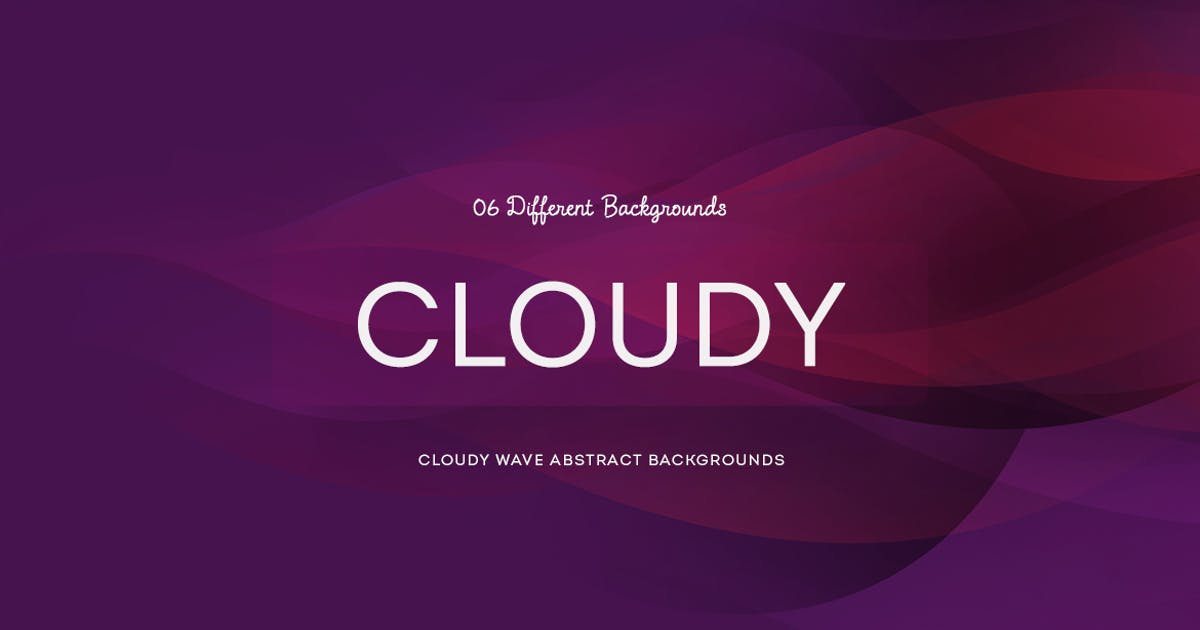 Cloudy wave Abstract Backgrounds by mamounalbibi