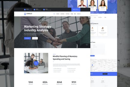 Consults - Consulting and Finance Unbounce Landing