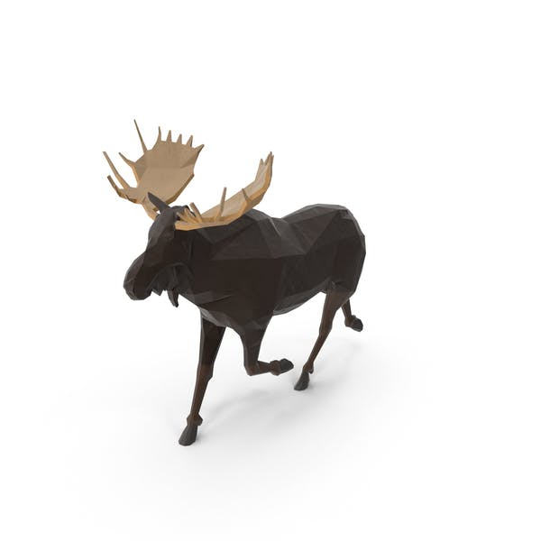 Cover Image for Low Poly Moose