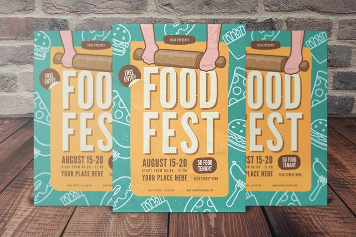 Thumbnail for Food Fest Flyer