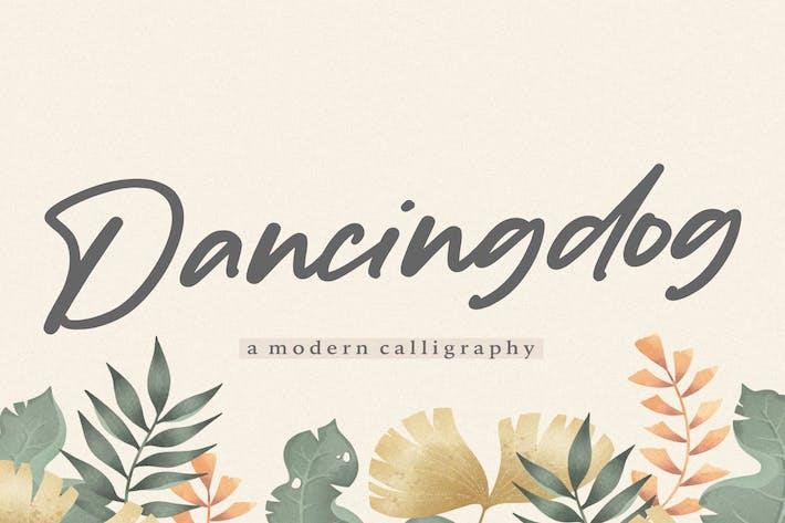 Thumbnail for Dancingdog YH - Fuente de escritura moderna