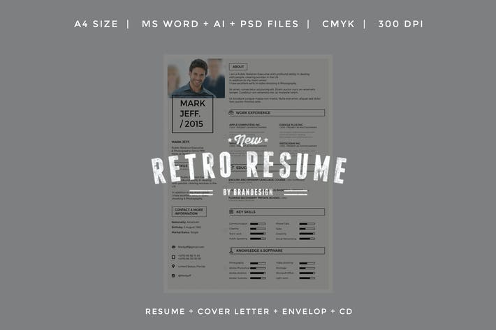 Thumbnail for New Retro Resume