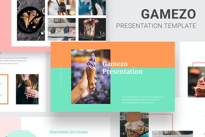 Thumbnail for Gamezo - Ice Cream Business Google Slides