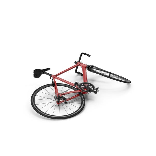 Cover Image for Road Bike Laying Down