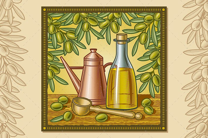 Thumbnail for Olive Oil Harvest Still Life