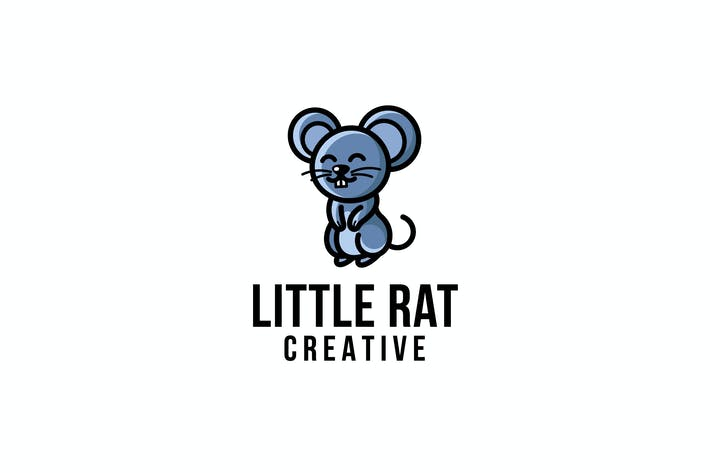 Thumbnail for Little Rat Creative Logo Template