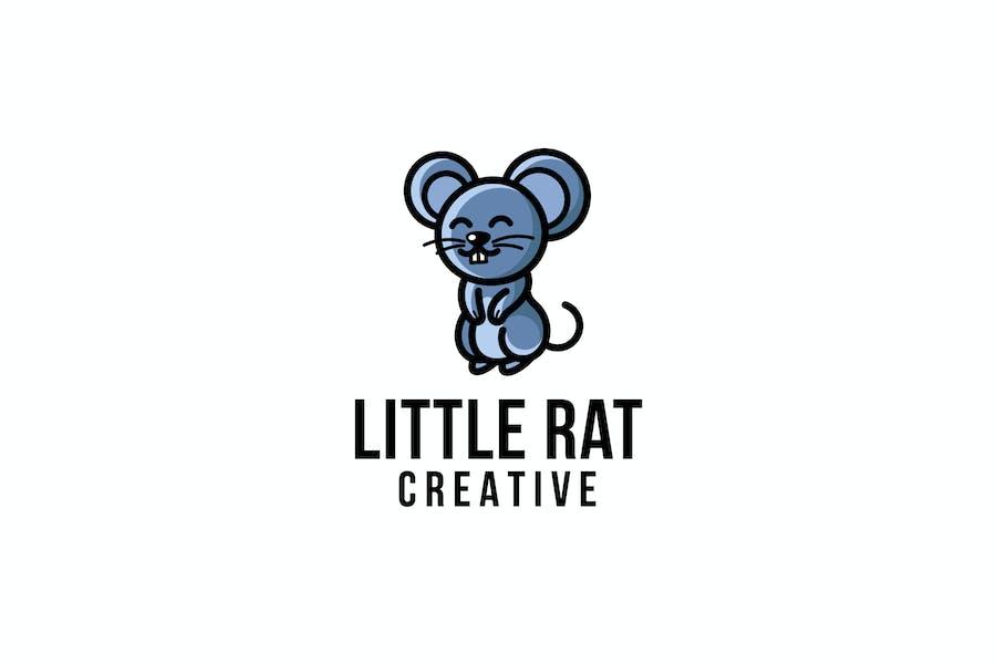 Little Rat Creative Logo Template