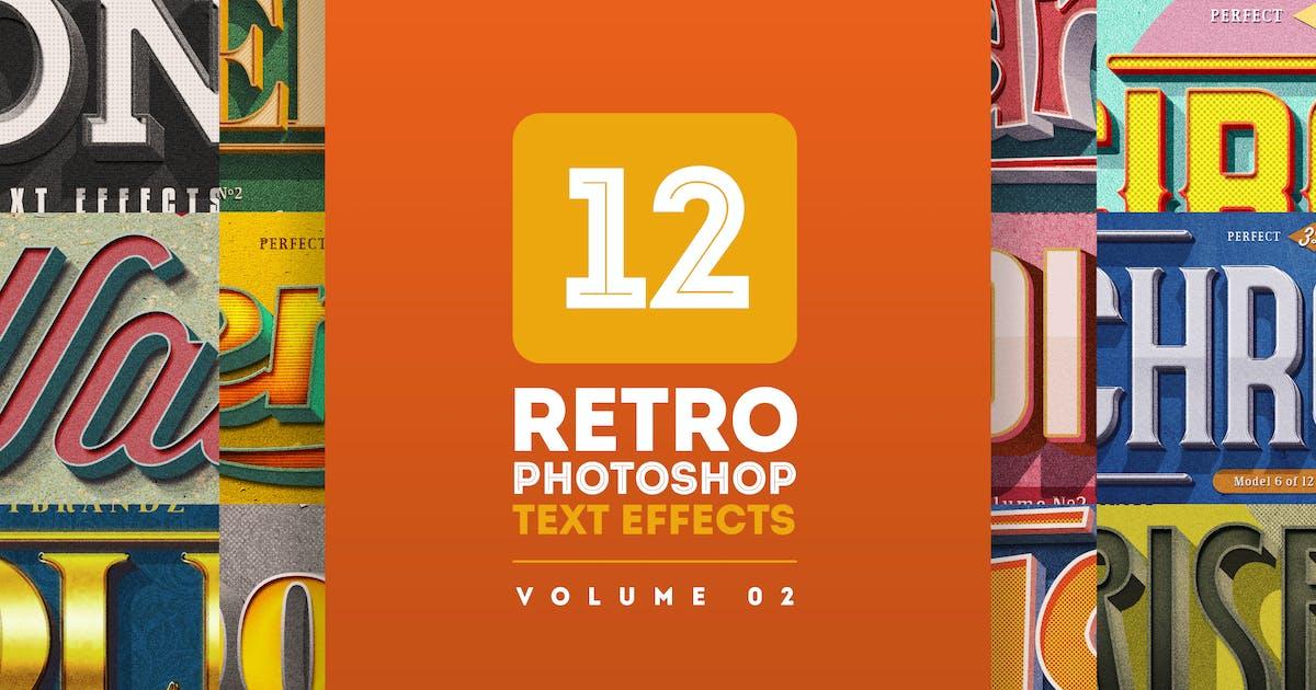 Download Retro Text Effects V.02 by Easybrandz2