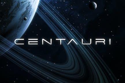Centauri - Fuente Futurista