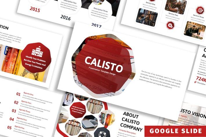 Thumbnail for Calisto - Бизнес Google Слайд Шаблон