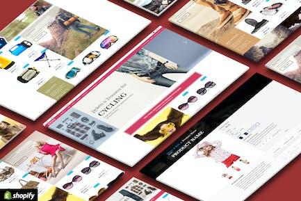 ENZO - Отзывчивый Shopify многоцелевой тема