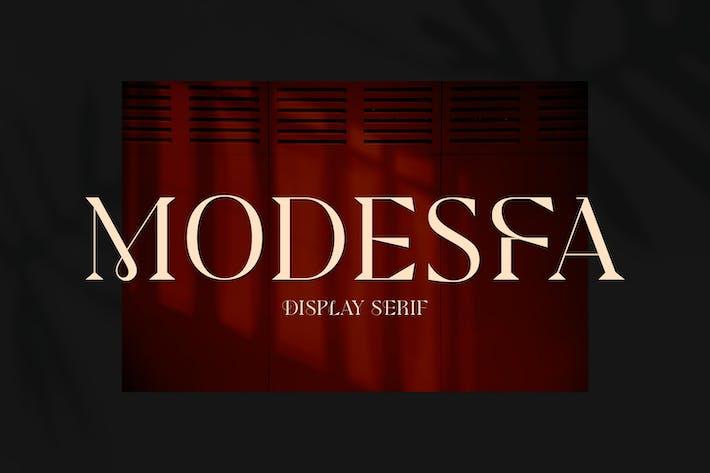 Thumbnail for Modesfa - Современный дисплей с засечками