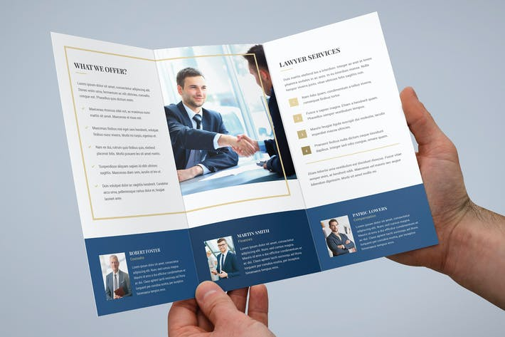 Thumbnail for Brochure – Law Firm Tri-Fold