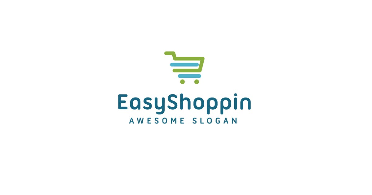 Download Easy shoppin logo template by hoanglam1607