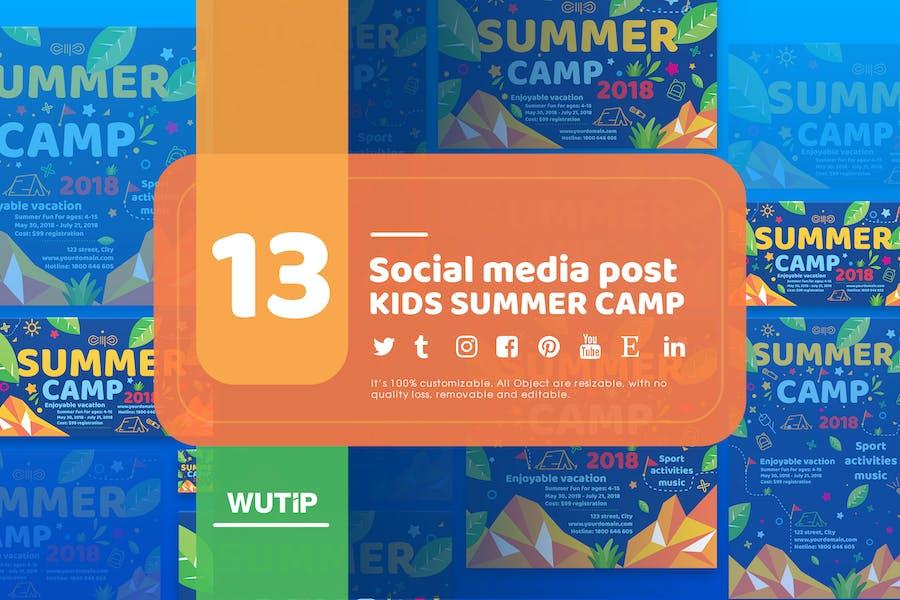 13 Social Media Post-Kids Summer Camp-Main Files
