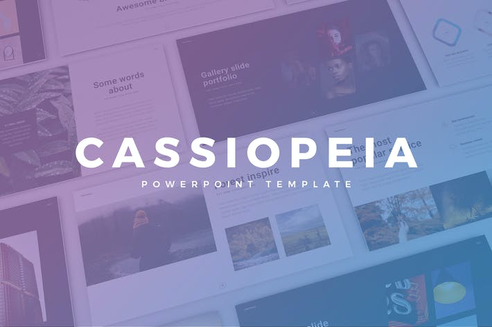 Cover Image For Cassiopeia Presentation