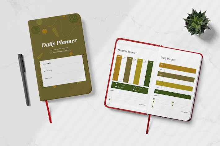 Thumbnail for Daily Creator Planner Book Vol.03