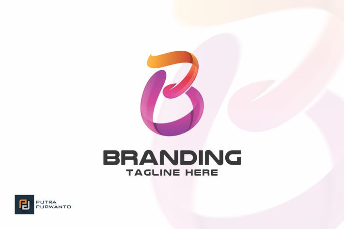 Thumbnail for Branding / Letter B - Logo Template