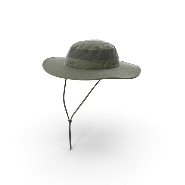 Green Outdoor Fishing Hat