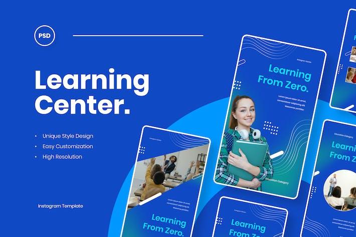 Thumbnail for Learning Center - Education Instagram Stories