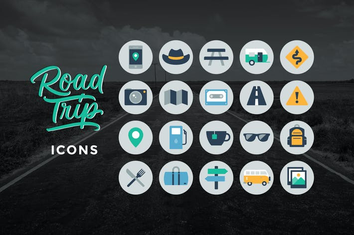 Thumbnail for Road Trip Icons