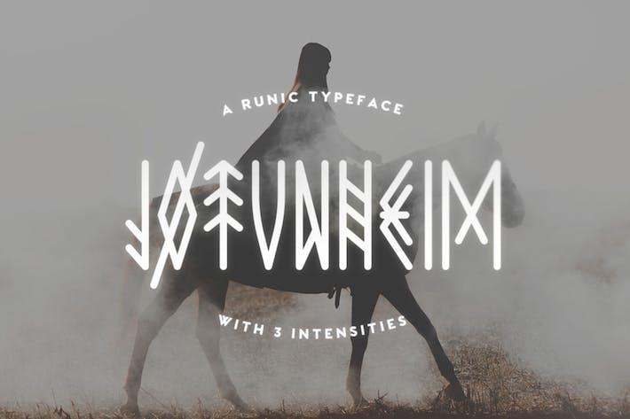 Jotunheim Tipo de letra