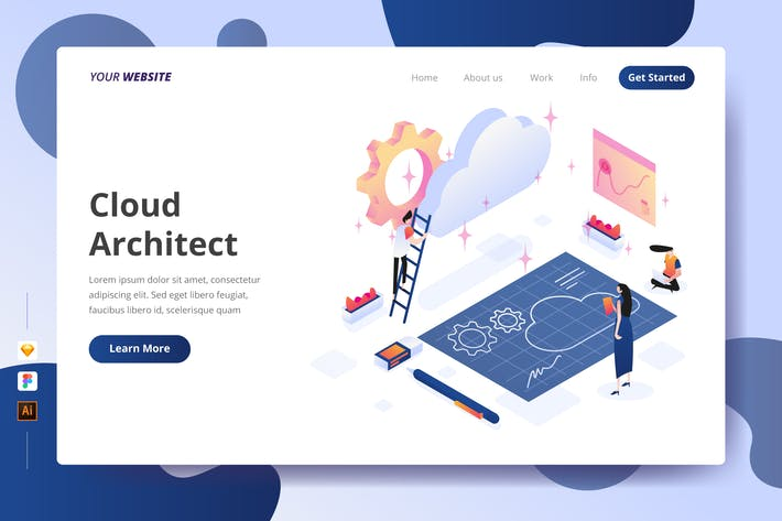 Thumbnail for Cloud Architect - Landing Page