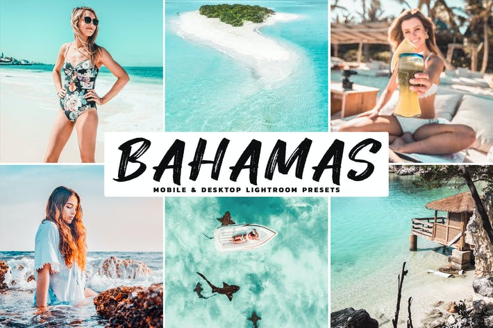 Thumbnail for Bahamas Mobile & Desktop Lightroom Presets