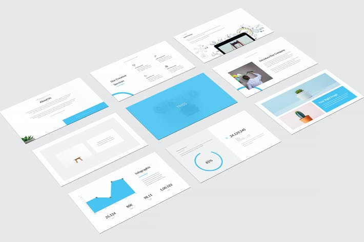 Thumbnail for Triss Powerpoint Template