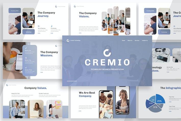 Thumbnail for Cremio - Keynote Presentation