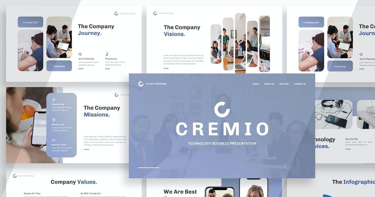 Download Cremio - Keynote Presentation by Haidezign
