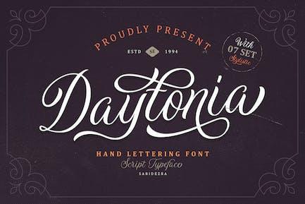 Daytonia - Сценарий ручной надписи