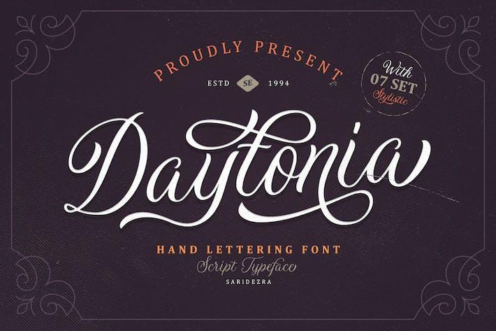 Thumbnail for Daytonia - Hand Lettering Script