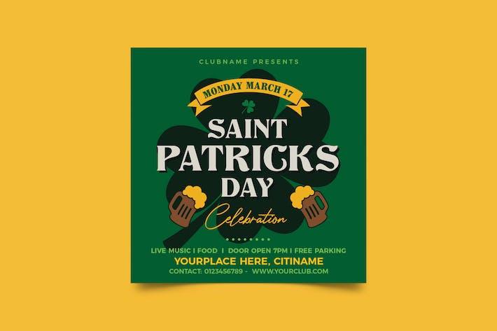 dépliant de la Journée St Patricks