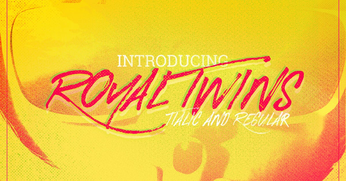 Download Royal Twins Font by LeoSupply