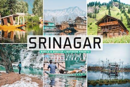 НаПресеты Lightroom для мобильных и настольных ПК Srinagar