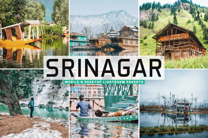 Thumbnail for Srinagar Mobile & Desktop Lightroom Presets