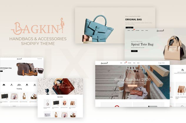 Bagkin- Handbags & Shopping Clothes Shopify Theme