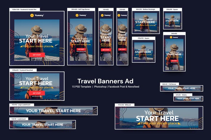 Thumbnail for Travel Banners Ad